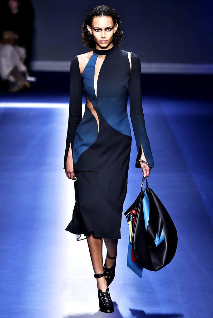 Versace Milan Womenswear Fall Winter 2017 Milan February 2017