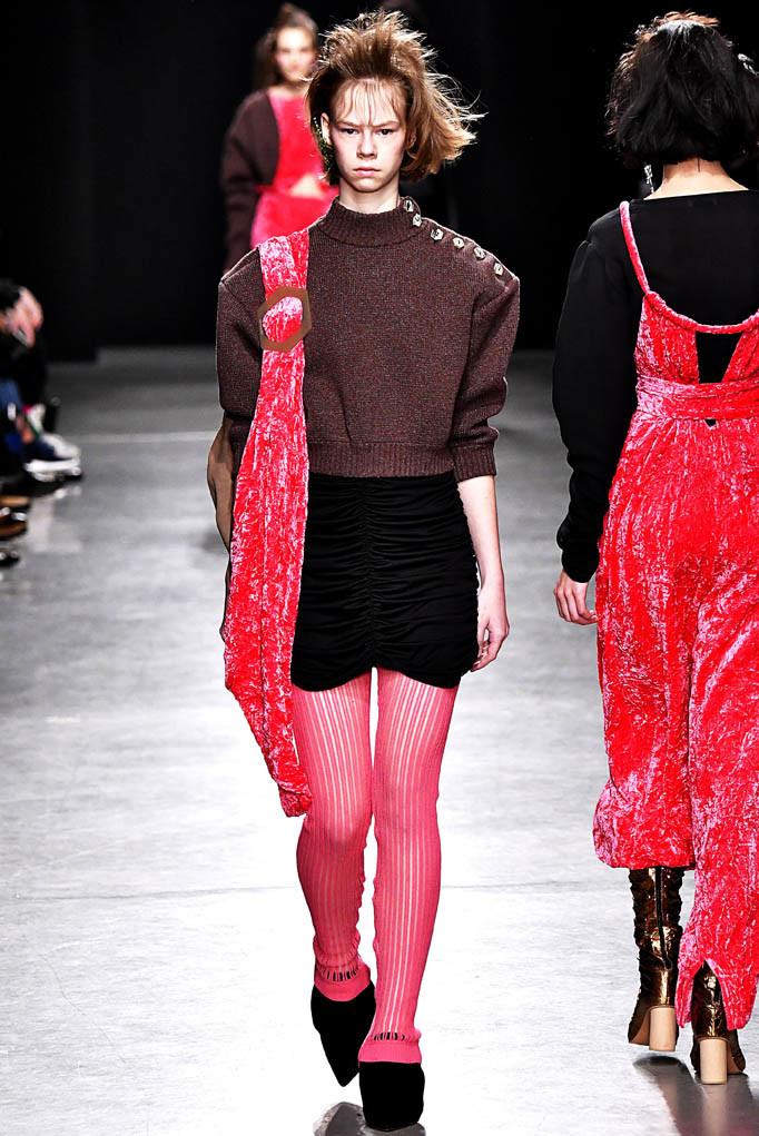 Veronique Leroy Paris Womenswear Fall Winter 2017  Paris March 2017