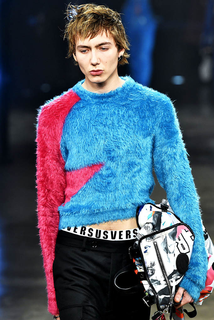 Versus London Womenswear Fall Winter 2017 London February 2017