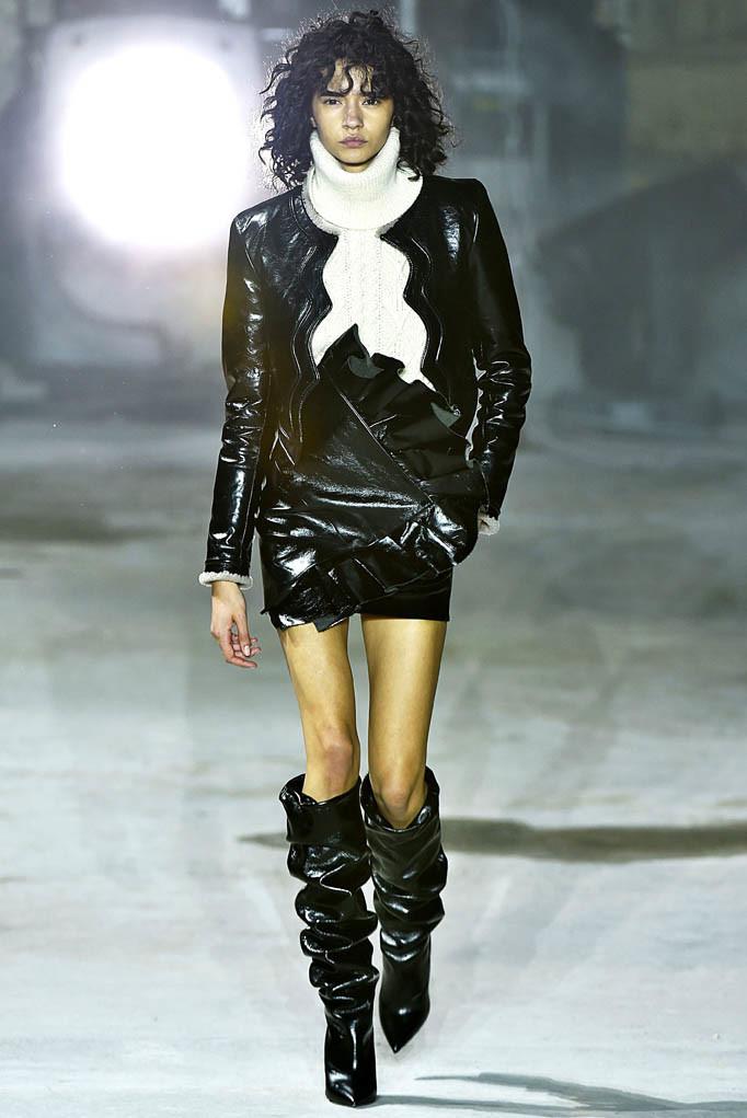 YSL Paris Womenswear Fall Winter 2017 Paris March 2017