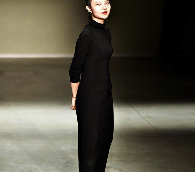 Angel Chen Milan Fashion Week Spring Summer 2018 Milan September 2017