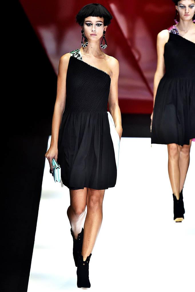 Giorgio Armani Milan Fashion Week Spring Summer 2018 Milan September 2017