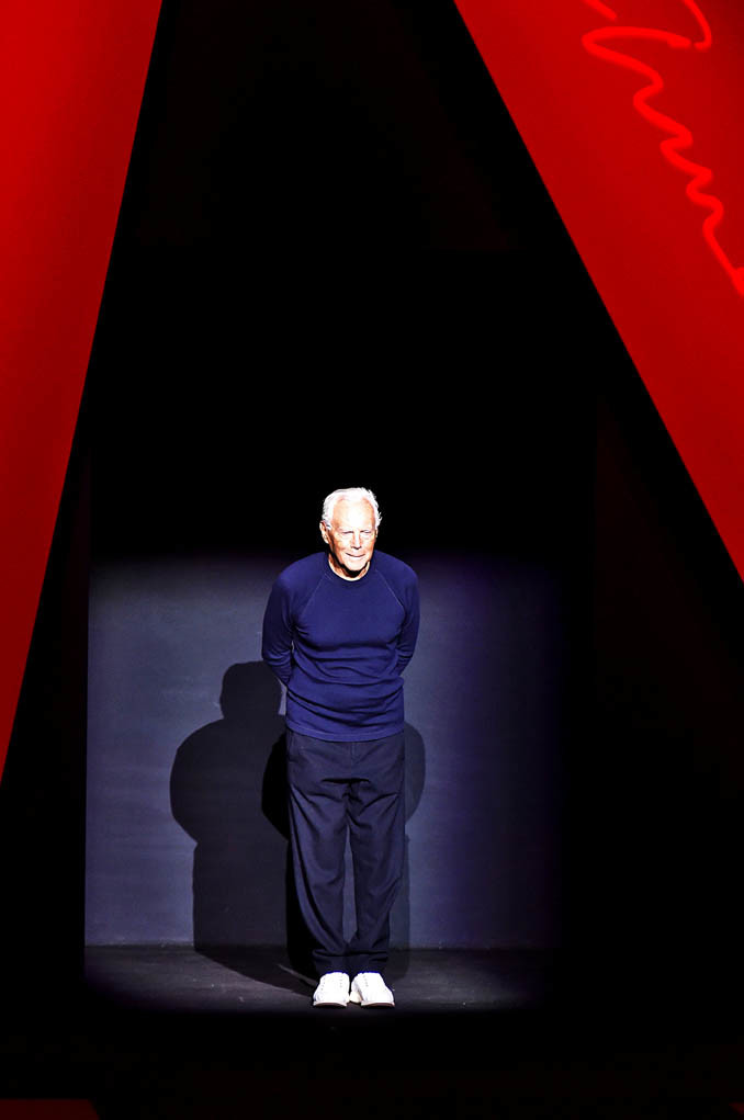 Giorgio Armani Milan Fashion Week Spring Summer 2018 Milan September 2017
