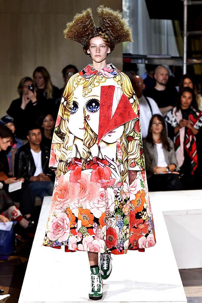 Comme Des Garcons Paris Fashion Week Spring Summer 2018 Paris September/October 2017