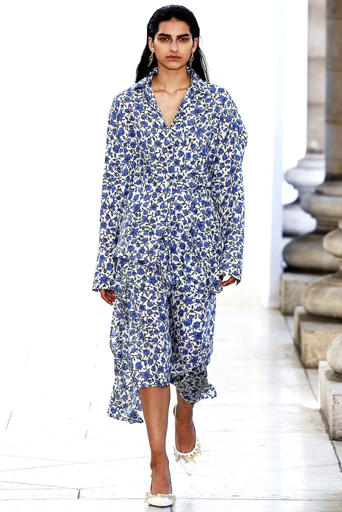Christian Wijnants Paris Fashion Week Spring Summer 2018 Paris Sept-Oct 2017