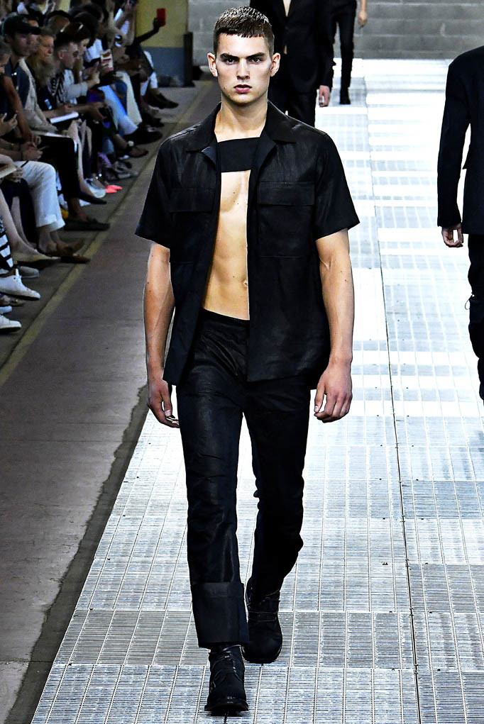Dirk Bikkembergs Milan Menswear Spring Summer 2018 Milan June 2017