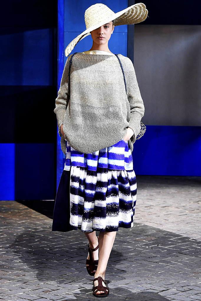 Daniela Gregis Milan Fashion Week Spring Summer 2018 Milan September 2017
