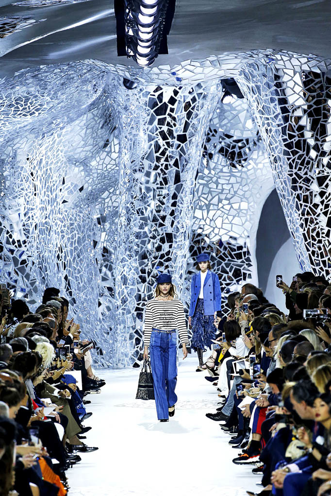 Dior Paris Fashion Week Spring Summer 2018 Paris September/October 2017