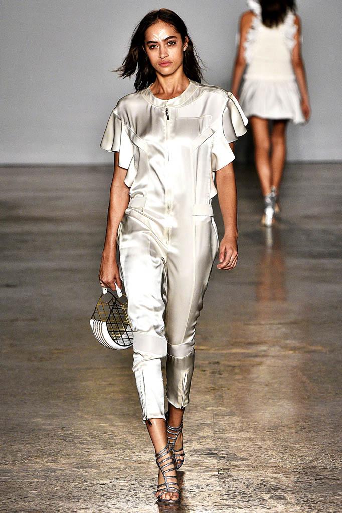 Genny Milan Fashion Week Spring Summer 2018 Milan September 2017