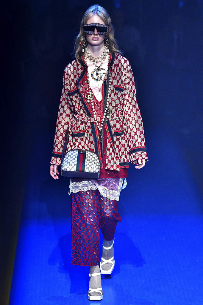 Gucci Milan Fashion Week Spring Summer 2018 Milan September 2017