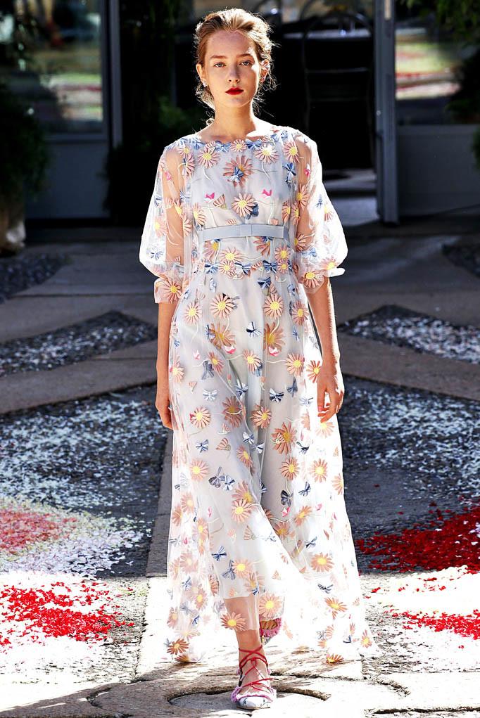 Luisa Beccaria Milan Fashion Week Spring Summer 2018 Milan September 2017