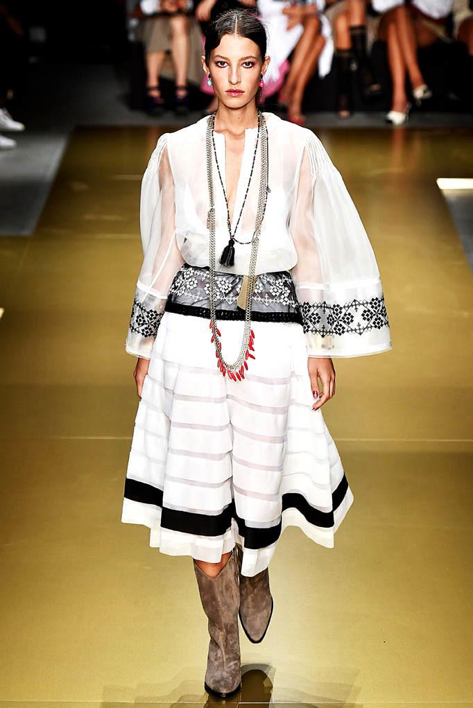 Les Copains Milan Fashion Week Spring Summer 2018 Milan September 2017