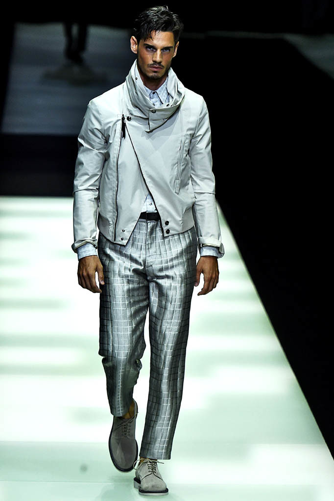 Giorgio Armani Milan Menswear Spring Summer 2018 Milan  June 2017