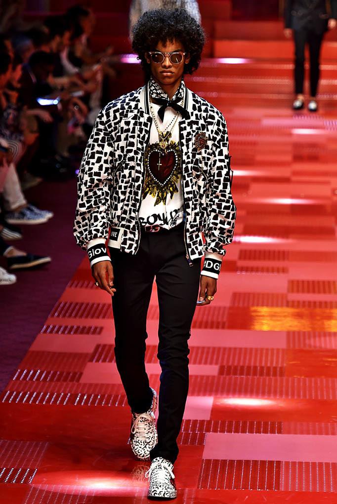 Dolce Gabbana Milan Menswear Spring Summer 2018 Milan  June 2017