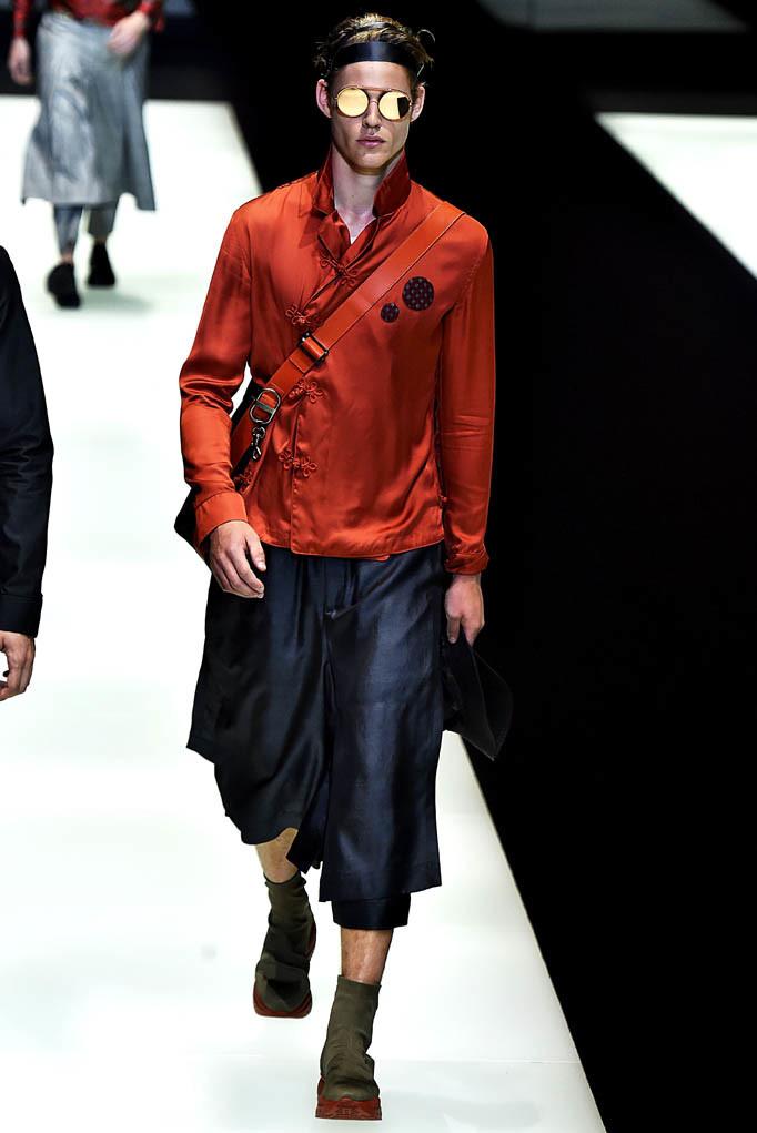 Emporio Armani Milan Menswear Spring Summer 2018 Milan  June 2017