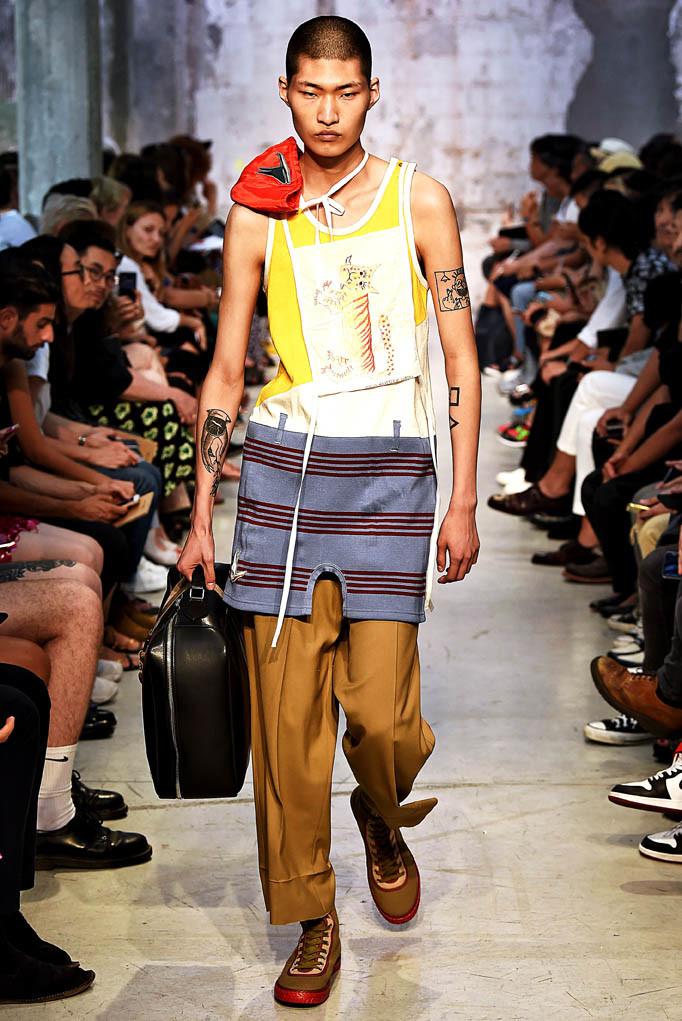 Marni Milan Menswear Spring Summer 2018 Milan  June 2017