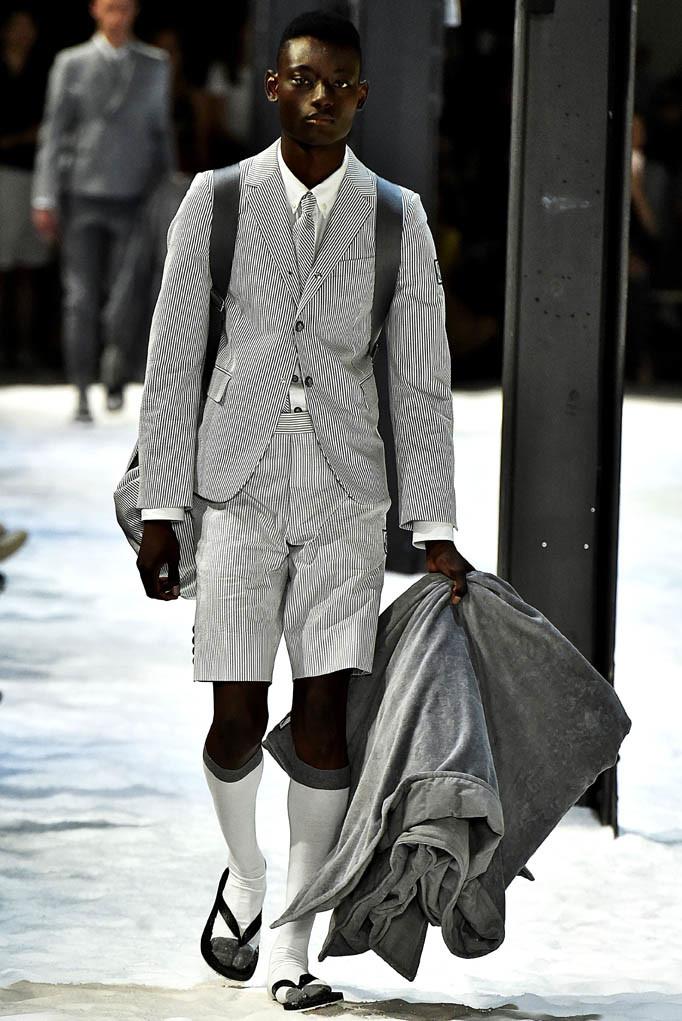 Moncler Gamme Bleu Milan Menswear Spring Summer 2018 Milan June 2017