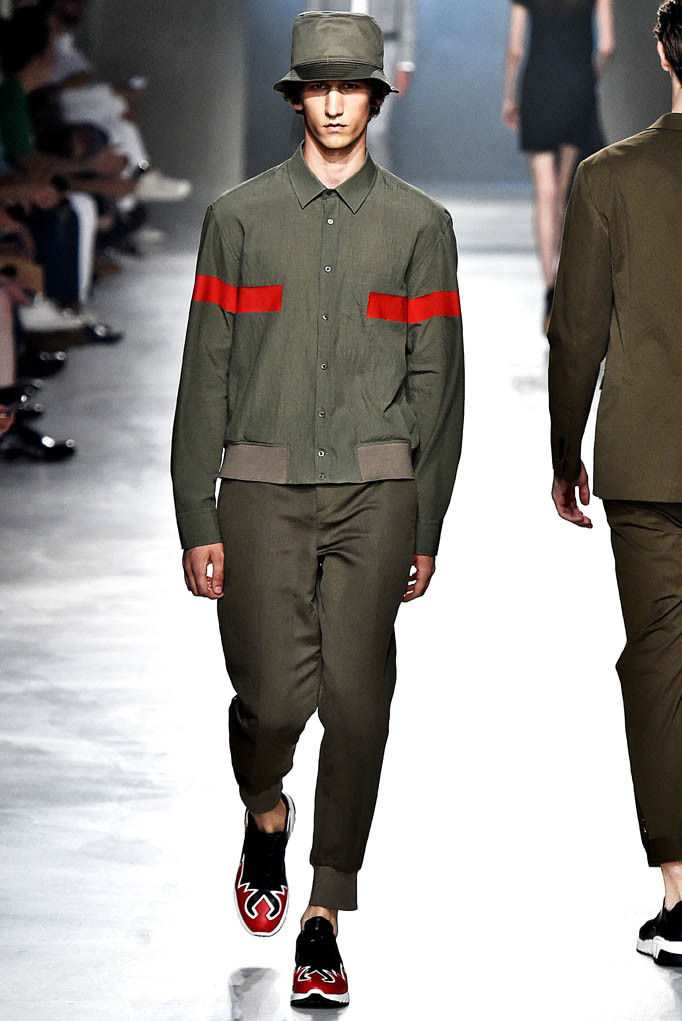 Neil Barrett Milan Menswear Spring Summer 2018 Milan June 2017
