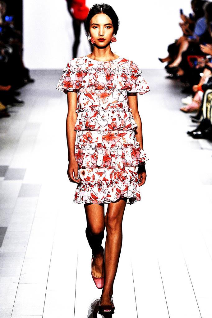 Badgley Mischka New York Fashion Week Spring Summer 2018 NY September 2017