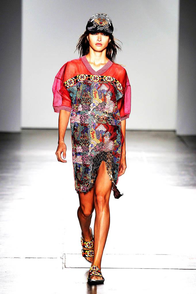 Custo Barcelona New York Fashion Week Spring Summer 2018 NY September 2017