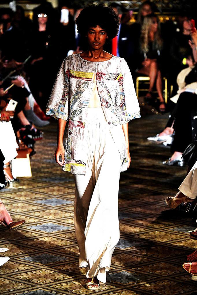 Dennis Basso  New York Fashion Week Spring Summer 2018 NY September 2017