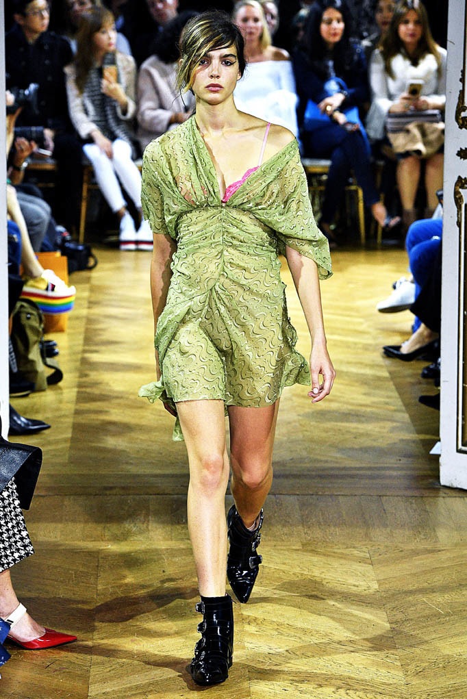 John Galliano Paris Fashion Week Spring Summer 2018 Paris September/October 2017