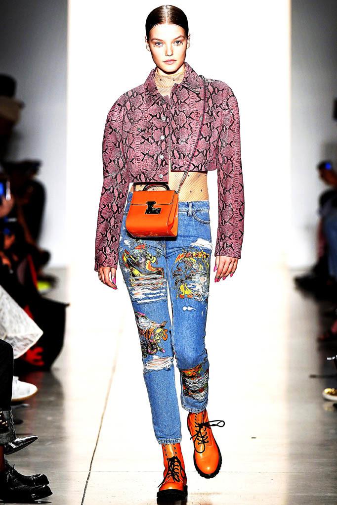 Jeremy Scott New York Fashion Week Spring Summer 2018 NY September 2017