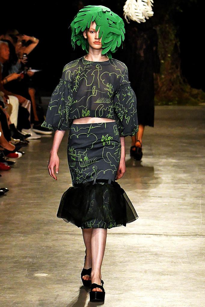 Junko Shimada Paris Fashion Week Spring Summer 2018 Paris September/October 2017