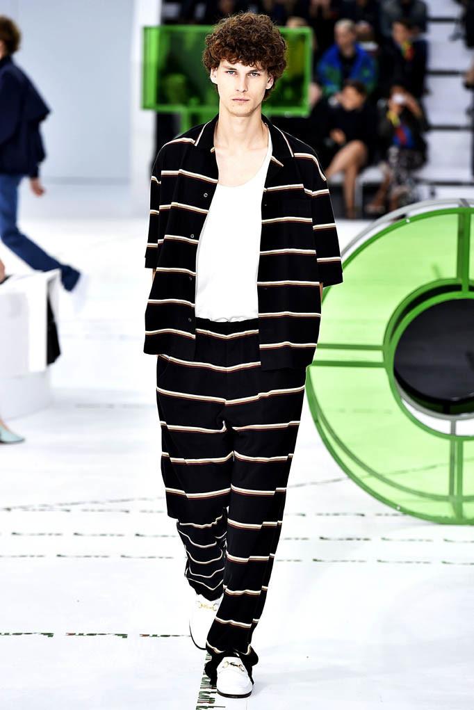 Lacoste Paris Fashion Week Spring Summer 2018 Paris September/October 2017