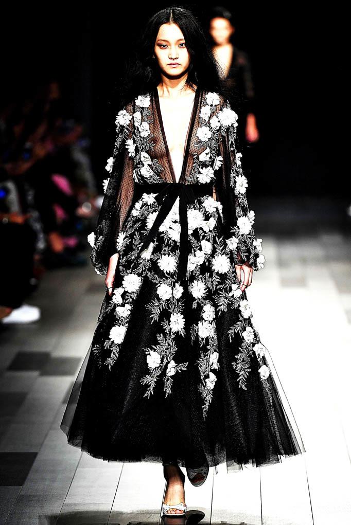 Marchesa New York Fashion Week Spring Summer 2018 NY September 2017