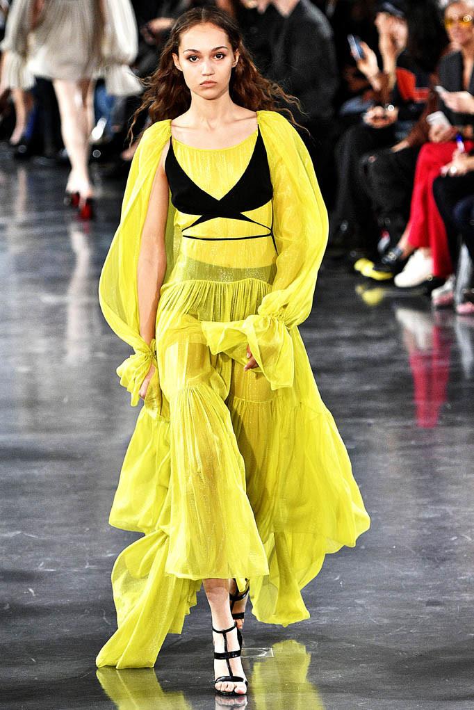 Mugler Paris Fashion Week Spring Summer 2018 Paris September/October 2017