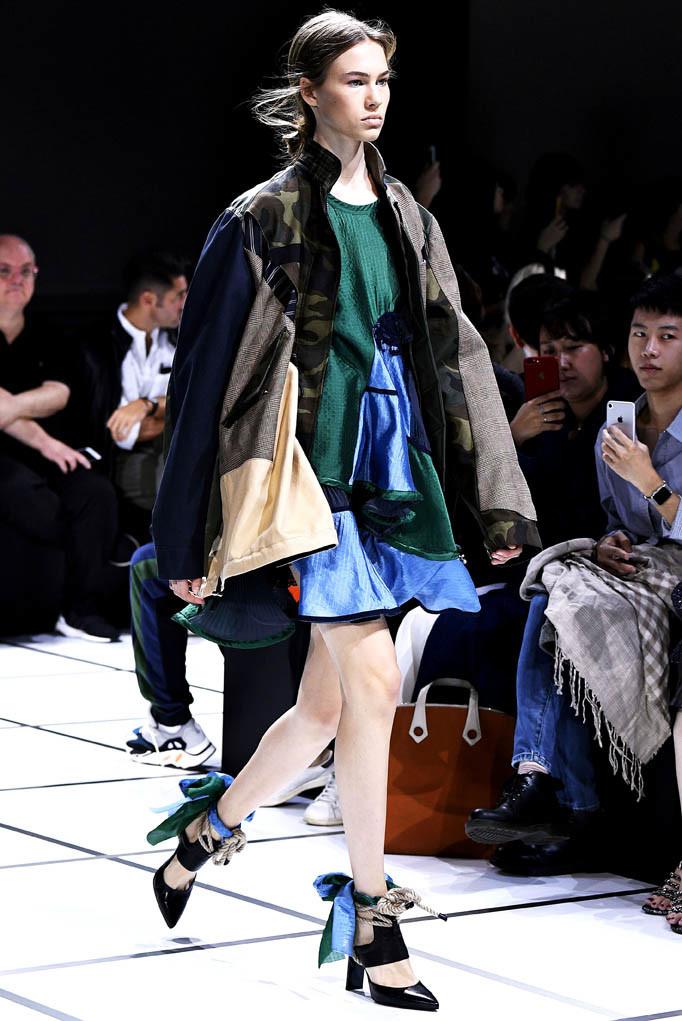 Sacai Paris Fashion Week Spring Summer 2018 Paris Sept-Oct 2017