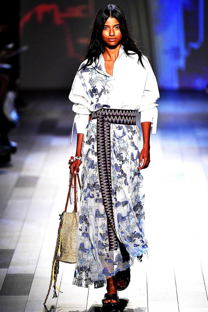 Vivienne Tam New York Fashion Week Spring Summer 2018 NY September 2017