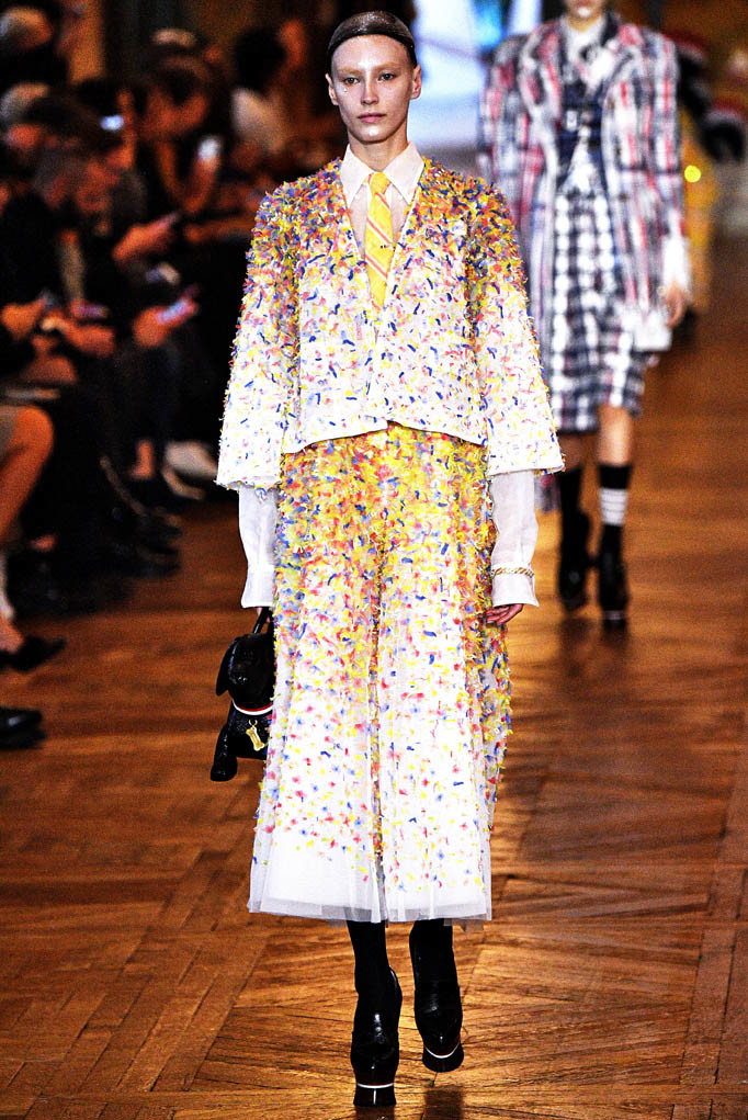 Thom Browne Paris Fashion Week Spring Summer 2018 Paris Sept-Oct 2017