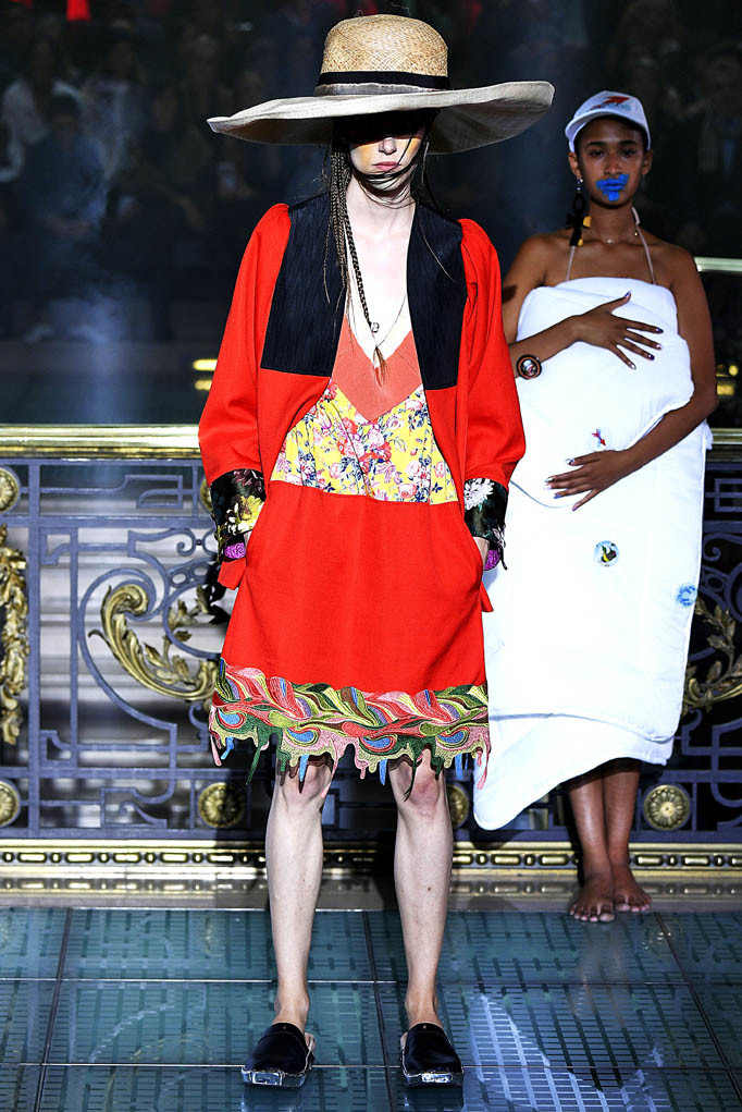 Vivienne Westwood Paris Fashion Week Spring Summer 2018 Paris Sept-Oct 2017
