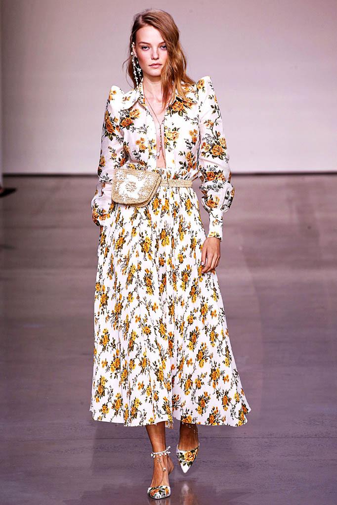 Zimmerman New York Fashion Week Spring Summer 2018 NY September 2017