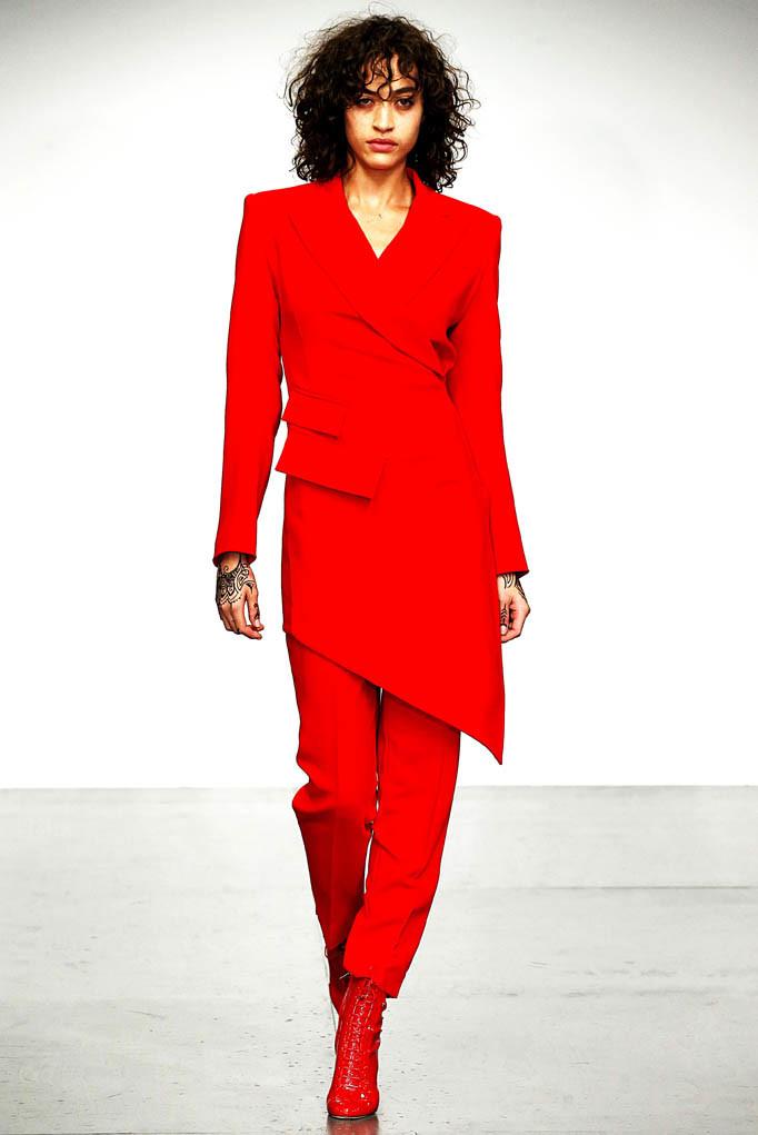 Antonio Berardi London Fashion Week Spring Summer 2018 London September 2017