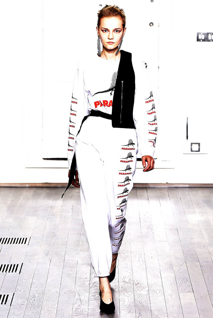 Ashley Williams London Fashion Week Spring Summer 2018 London September 2017