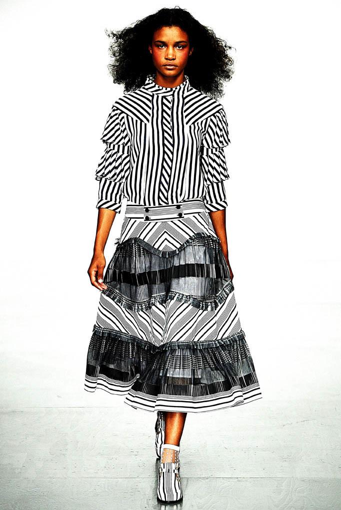 Bora Aksu London Fashion Week Spring Summer 2018 London September 2017